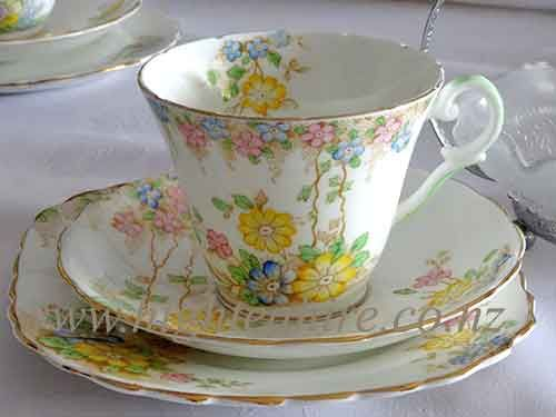 Best Bone Wellington China from England. Patt-8019/1 one of cup set for hire
