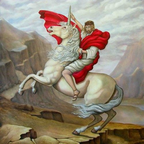 Luther Bibel 1545 CE. Unicorns are mentioned 8 times in the Luther Bibel. Einhorn is German for unicorn.