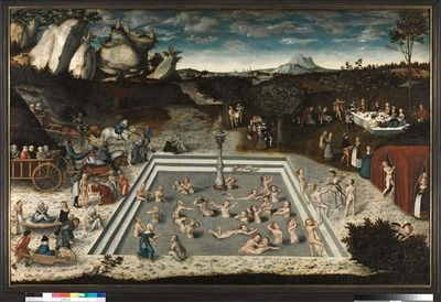 The Fountain of Youth and Der Jungbrunnen | Lucas Cranach - Europeana