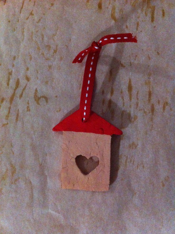 Home lover | Handmade house ornament for Christmas decoration