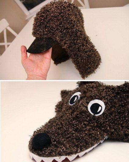 Cómo hacer un disfraz de lobo casero paso a paso