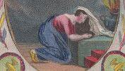 """Image Pieuse """" Hocquart Ainé, Marchand D´Estampes """", Paris 1833. - Imágenes Religiosas"""