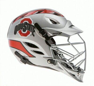 Ohio State lacrosse helmet