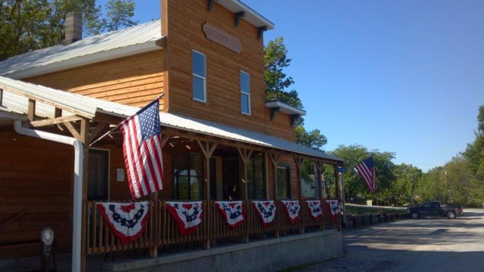 Baxa's Sutliff Store and Tavern is located at 5546 130th St NE, Lisbon.