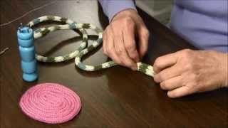 knitting spool - YouTube