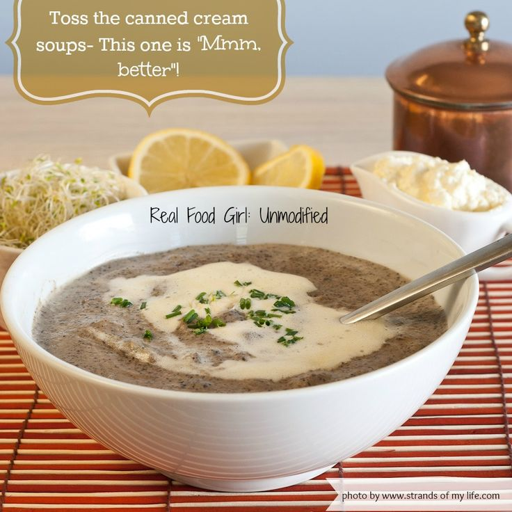 Mushroom Soup | Recipe | Cream Of Mushrooms, Mushroom Soup and
