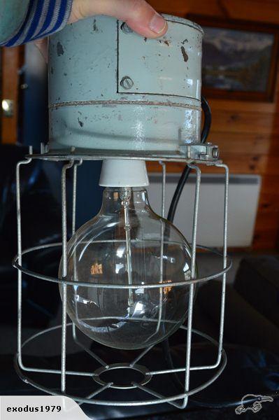 Industrial Hanging Light | Trade Me