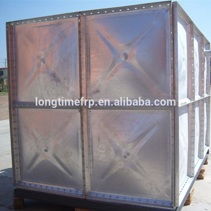 Panel Type Water Tank/1.22*1.22m Galvanized Steel Plate/galvanized steel water storage tanks