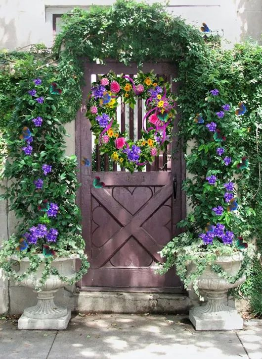 493 Best Images About Front Door Planters On Pinterest