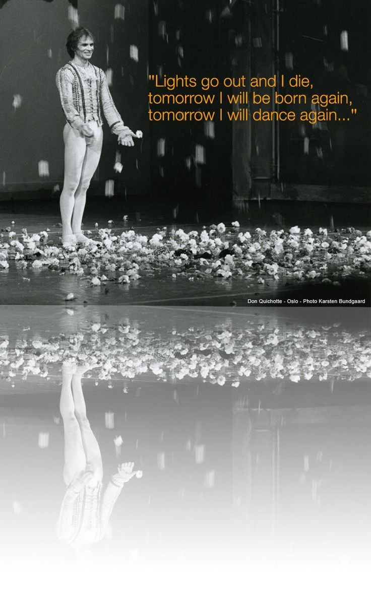Rudolph Nureyev, love this quote more quotes at www.unsoiralopera.com #unsoiralopera #nureyev