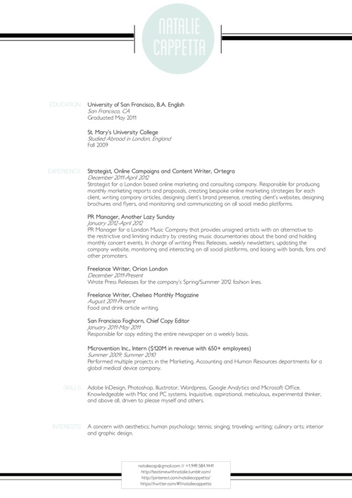 18 best Creative Resumes on Pinterest images on Pinterest - medical device resume