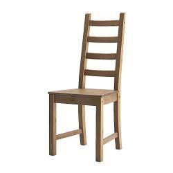 IKEA - KAUSTBY, Chaise, Le pin massif est un matériau naturel qui embellit et acquière un caractère unique avec le temps.