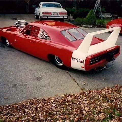 . Supercharged Superbird is one way to snap some necks.supercharged Beast...