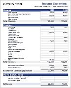 Income Statement Template - FREE!  This is an amazing website, they just ask for you to like them in your favorite social site!