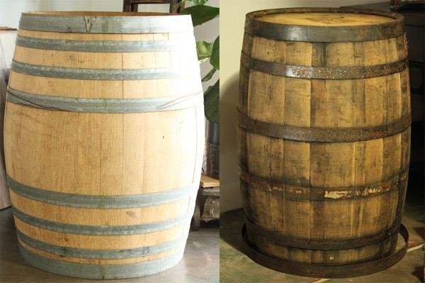 Wine and Whiskey Barrels For Sale | The Vintage Wood Floor Company