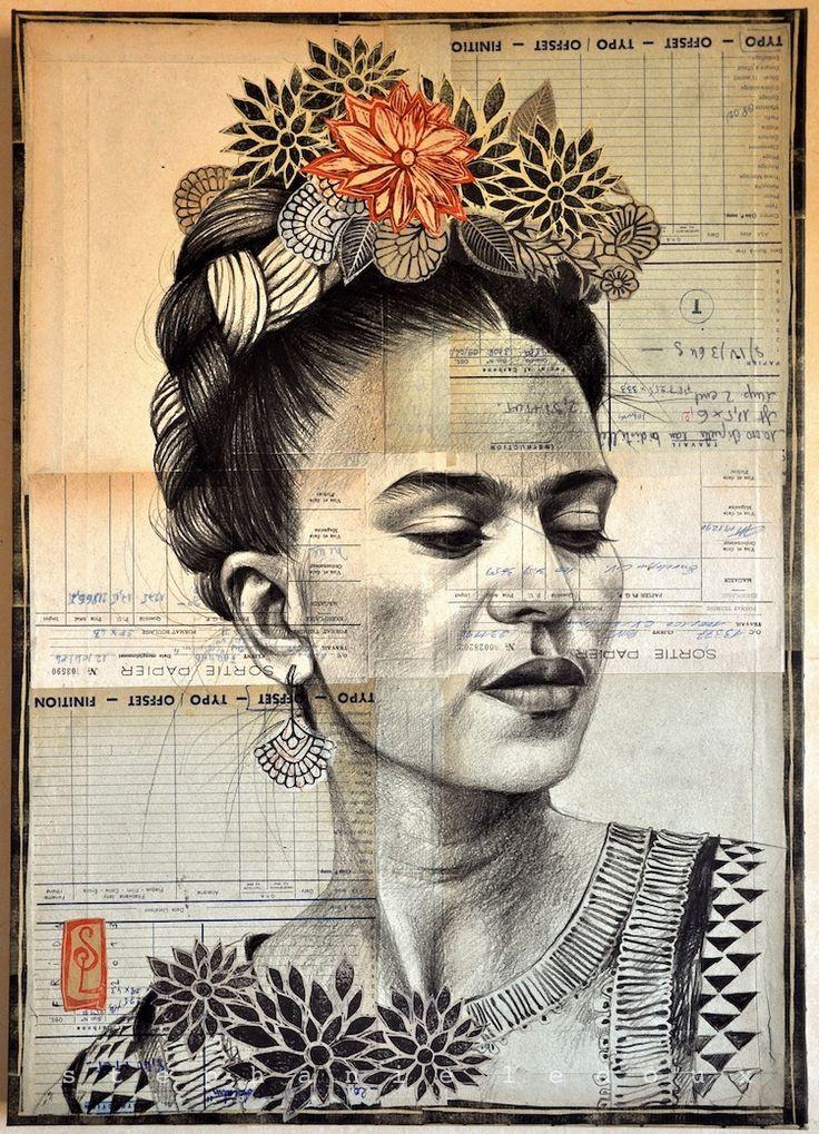 Stéphanie Ledoux - Carnets de voyage Frida par Stéphanie Ledoux