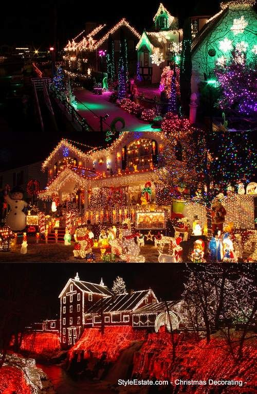 Best 25 exterior christmas lights ideas on pinterest christmas 50 homes with extraordinary exterior christmas light displays mozeypictures Gallery