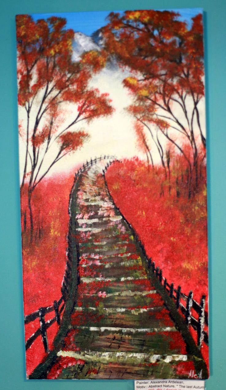 Painting on canvas/Autumn Landscape Acrylic Painting / Landscape Painting / Nature Painting by AllexaArt on Etsy https://www.etsy.com/listing/251921973/painting-on-canvasautumn-landscape