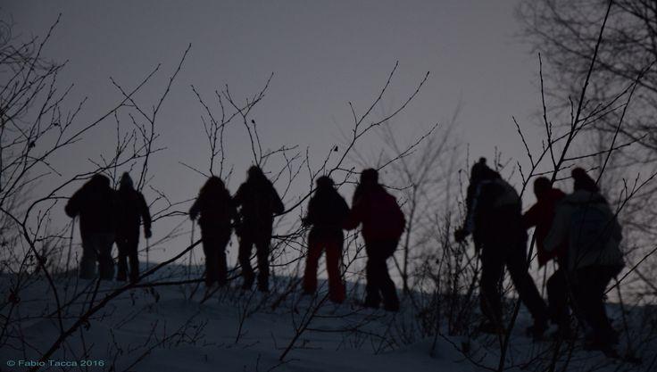 https://flic.kr/p/EqLQTa | snowshoeing | Ciaspolando al chiar di luna sino all'Alpe Mera