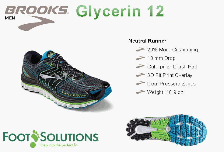 Brooks Glycerin 12 - Men // Summer 2014