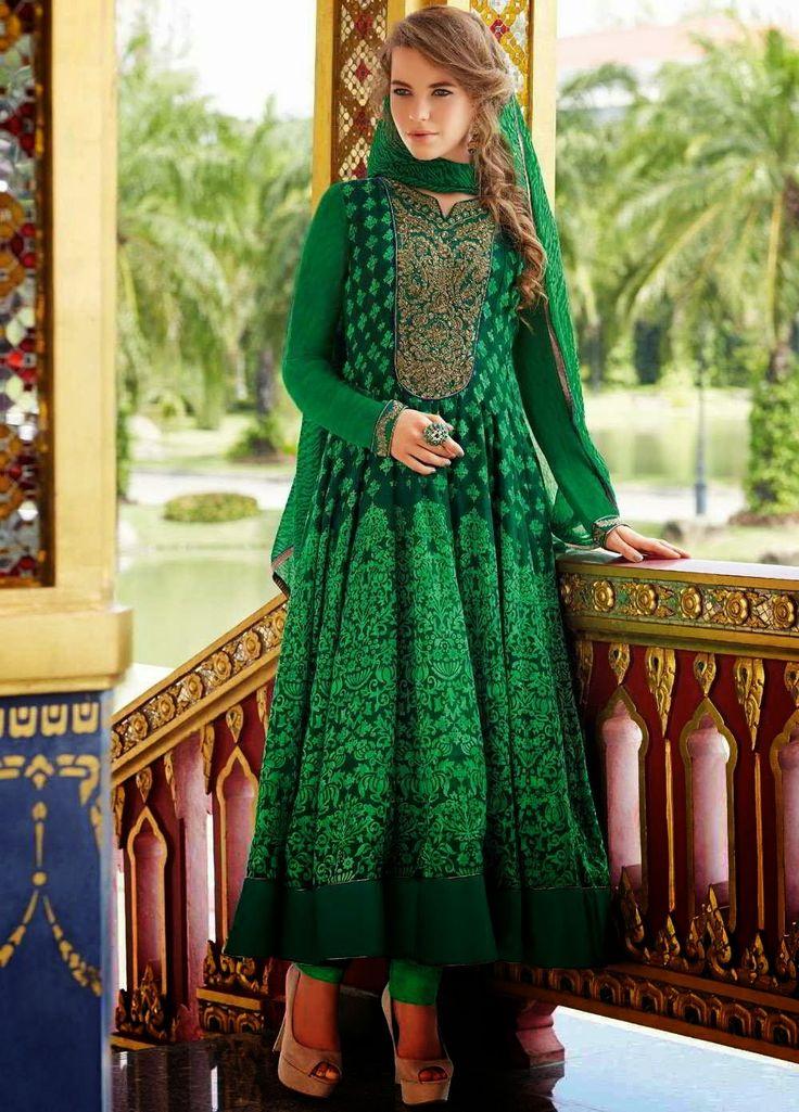 Anarkali Latest Arrival Kalidar Suits For Ladies 2014 8 Anarkali Latest Arrival Kalidar Suits For Ladies 2014