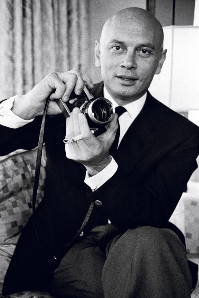 Yul Brynner (1920-1985) was a Russian-born stage and film actor. He was best known for his portrayal of Mongkut, King of Siam, in the Rodgers and Hammerstein musical The King and I, for which he won an Academy Award for Best Actor for the film version