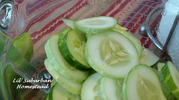 Freezer pickles, this looks like the easiest and I have all the ingredients, try this one first