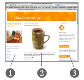 How to do fancy things to your Blogger template | How About Orange