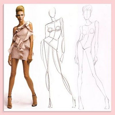 Fashion illustration how to 57