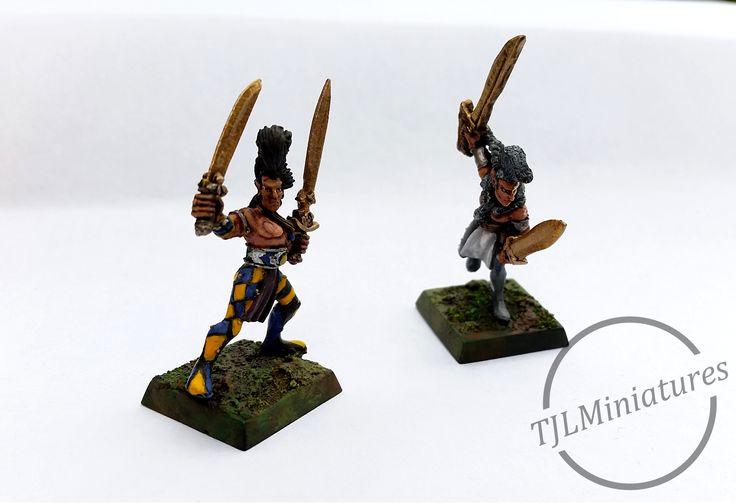 Classic Wood Elf Wardancers