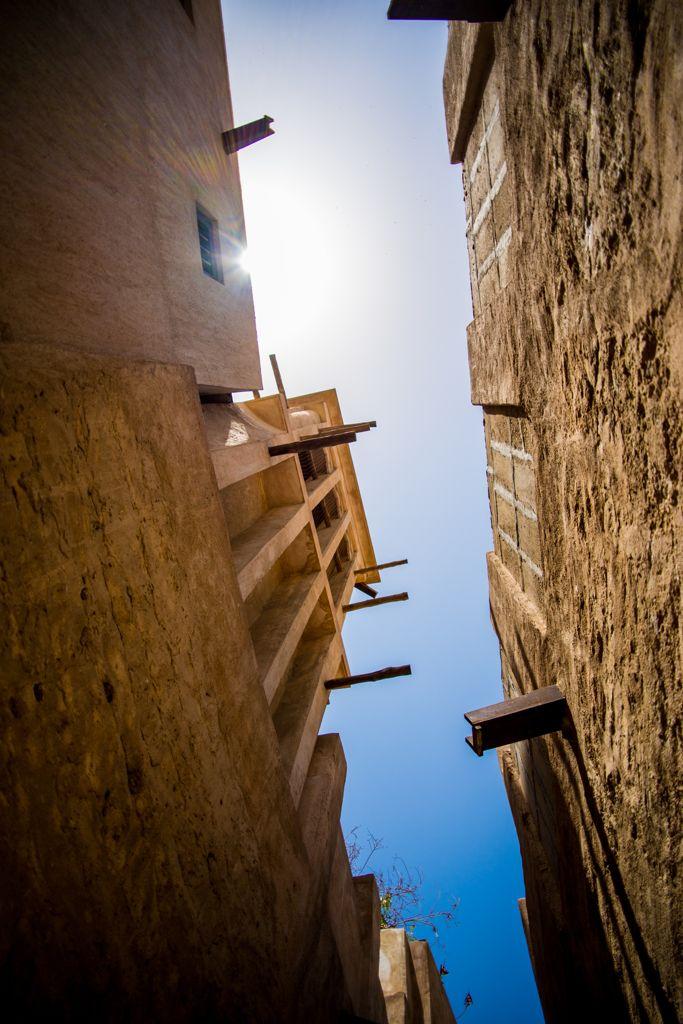 バスタキヤ地区、歴史的建造物を保護している地区。ドバイ 旅行・観光のおすすめ見所。