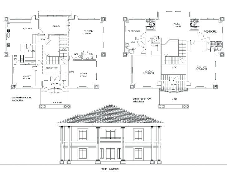 5 Bedroom Bungalow Plans In Nigeria Classy Five Bedroom Bungalow Floor Plan Fresh Best 5 Bedroom D In 2020 Duplex Floor Plans Bungalow Floor Plans Bungalow House Plans