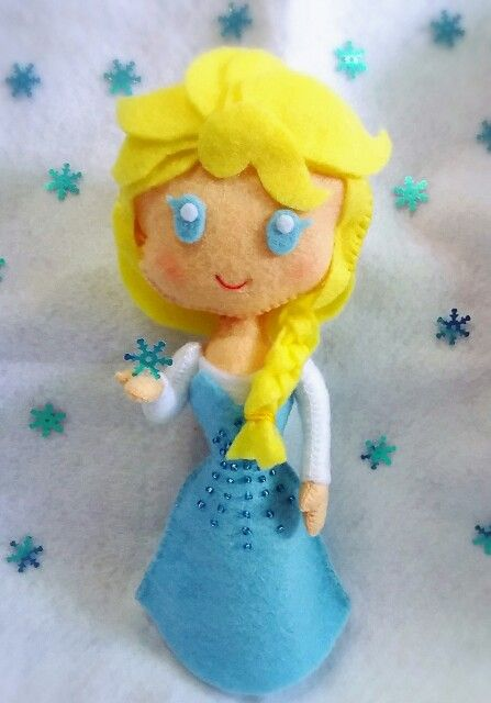 Elsa frozen...ideas from pinterest pin