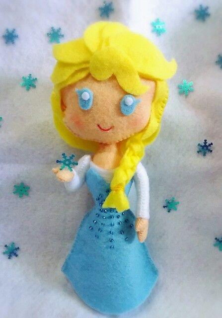 Elsa frozen...ideas from pinterest pin