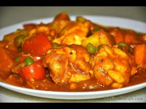 Chicken Afritada (Apritada)