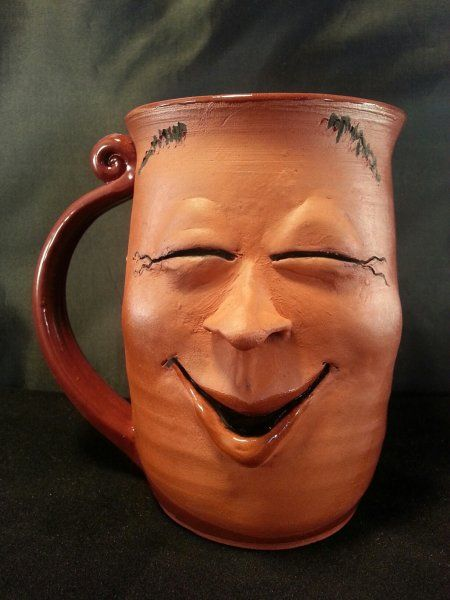 Face Mug from Lakeside Studio Pottery.  Smile please...
