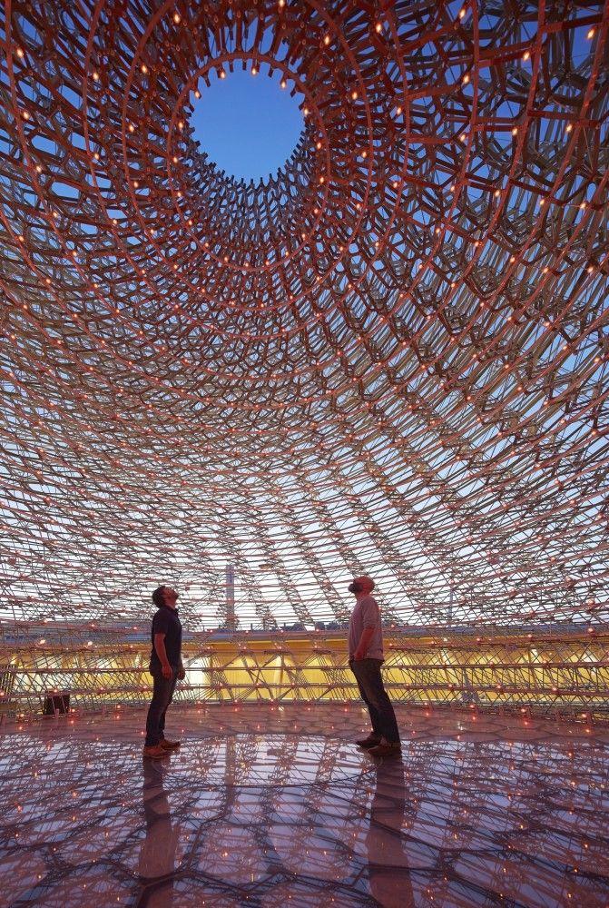 UK Pavilion - Milan Expo 2015 / Wolfgang Buttress #Milan2015