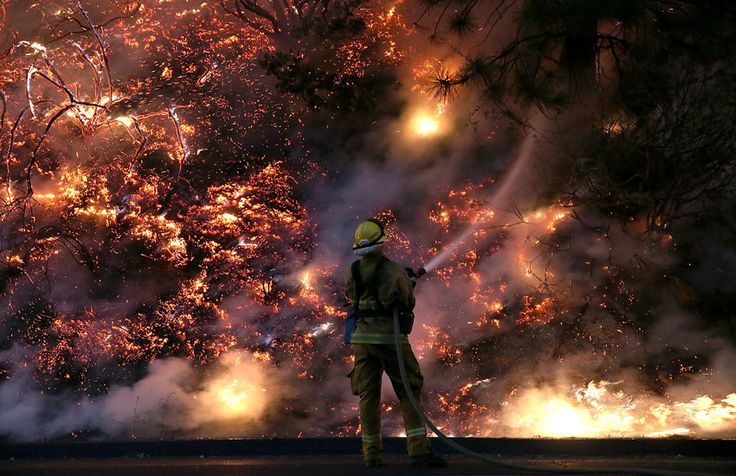 Yosemite Wildfire - In Focus - The Atlantic