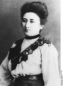 Rosa Luxemburg (1871-1919), polnisch-deutsche Sozialistin und Revolutionärin