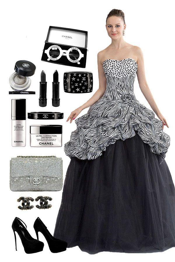 Pick-up Skirts Strapless Charming Dress - #Cherishdress#. Please Click to http://www.cherishdress.com/