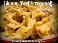 Could 4th this recipe.Skinny Beef Stroganoff Recipe