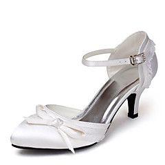 Chaussures de mariage - Noir / Bleu / Rose / Violet / Rouge / Ivoire / Blanc / Argent / Gris / Champagne - Mariage -Talons / D'Orsay &