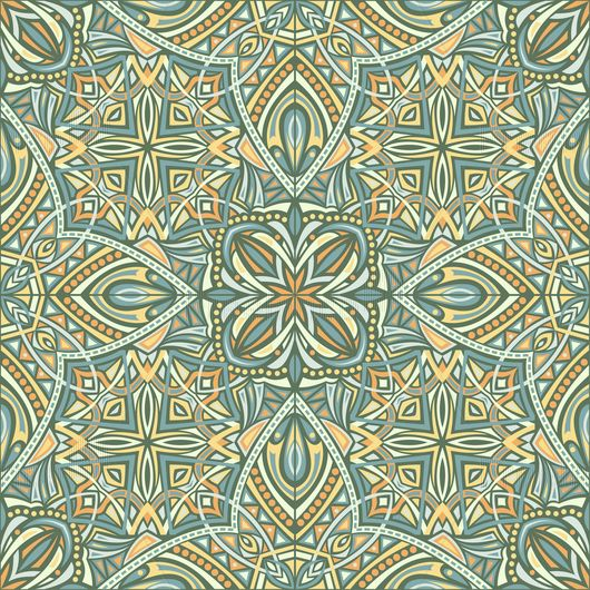 Oriental pattern. Buy ready-made vector image.