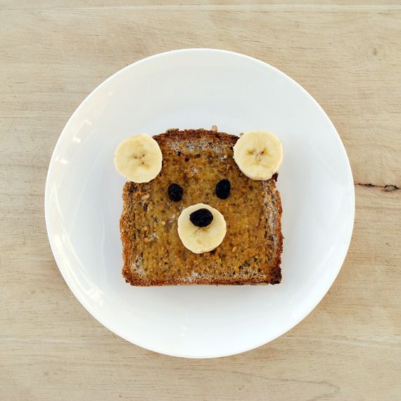 Same goes for teddy bear toast. / 19 Easy And Adorable Animal Snacks To Make With Kids (via BuzzFeed)