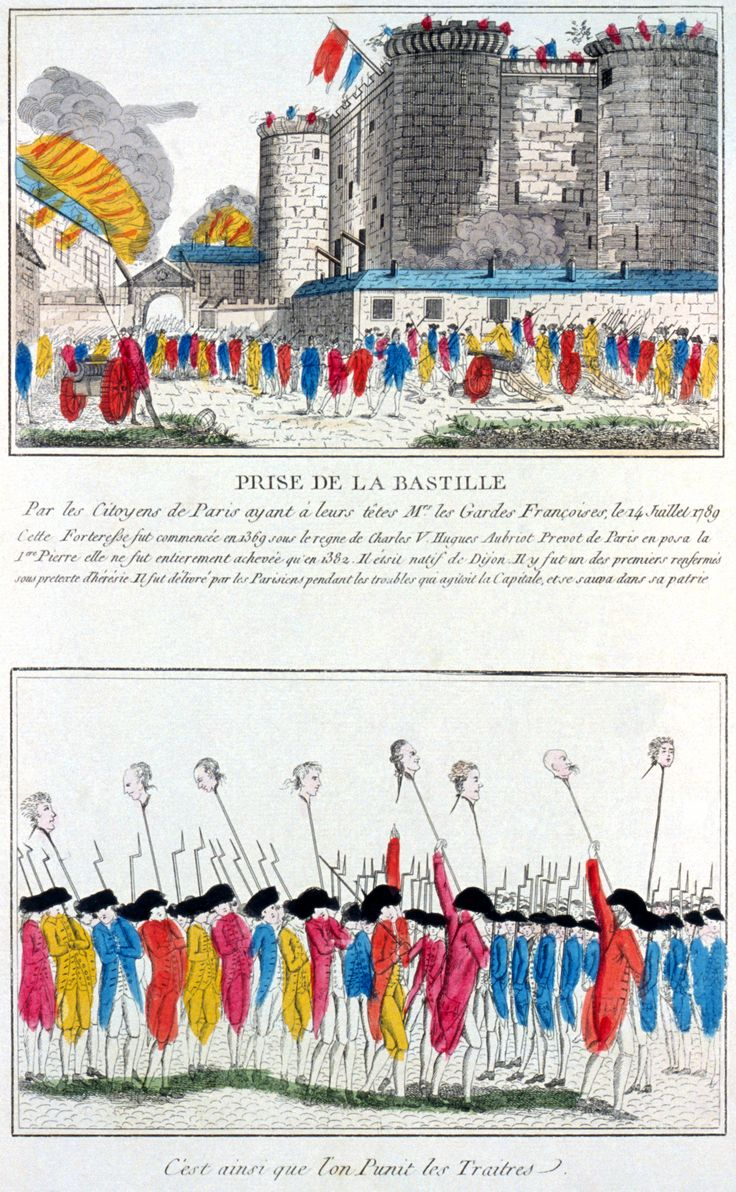 The Storming of the Bastille occurred in Paris, France on the morning of 14 July 1789. The medieval fortress and prison in Paris known as the Bastille represented royal authority in the center of Paris. The prison only contained seven inmates at the time of its storming but was a symbol of the abuses of the monarchy, its fall was the flashpoint of the French Revolution.