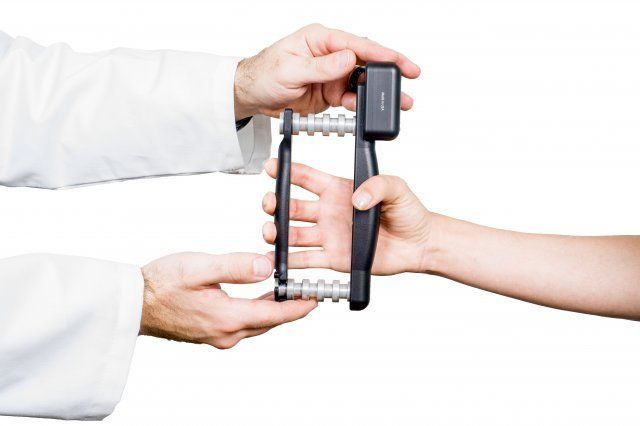 Hand Held Dynamometer For Muscle Strength : Best images about grip strength testing on pinterest