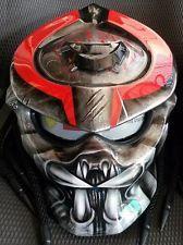 Predator Motorcycle Custom DOT Helmet