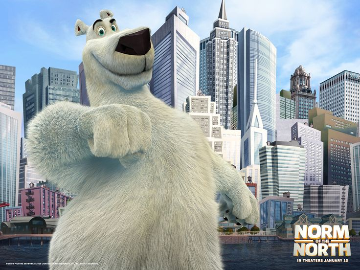Norm of the North Standard Wallpaper