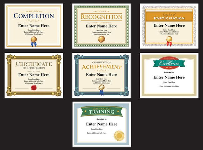 77 best Award Certificates Templates images on Pinterest Award - name a star certificate template