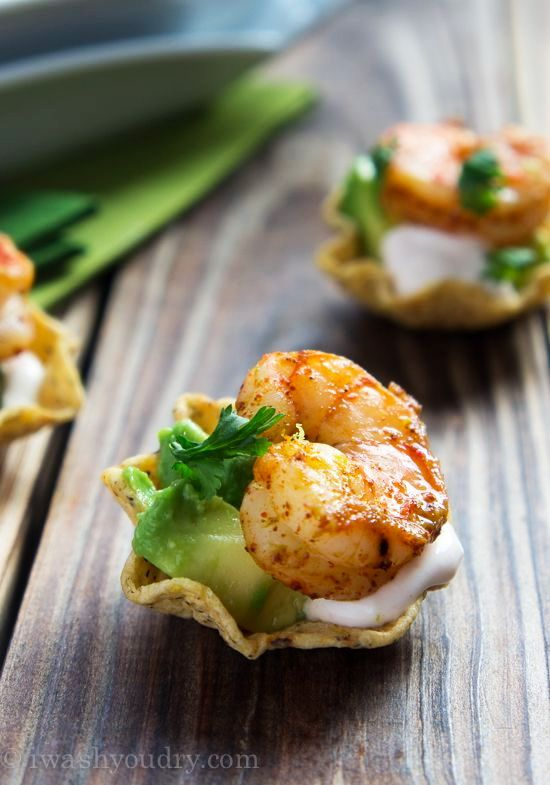 Shrimp Taco Appetizer – Best Cheap Easy Buffet Party & Fast Seafood Dinner Idea - Easy Idea (2)